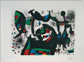 Reprodução do quadro Homage to Joan Prats, 1975