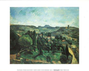 Reprodução do quadro Ile De France Landscape