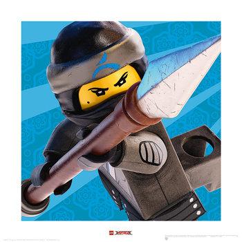 Reprodução do quadro Lego Ninjago Movie - Nya Crop