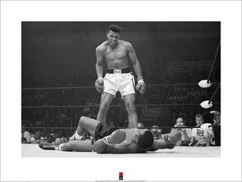 Reprodução do quadro Muhammad Ali vs Liston