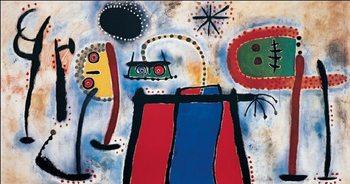 Reprodução do quadro Painting, 1953