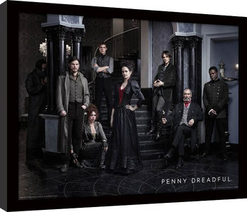 Penny Dreadful - Group Poster Emoldurado