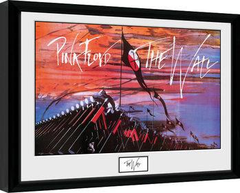 Pink Floid: The Wall - Hammers Poster Emoldurado