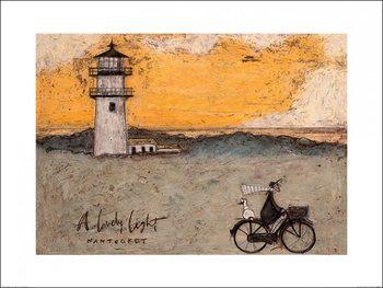 Reprodução do quadro Sam Toft - A Lovely Light, Nantucket