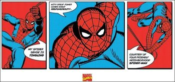 Reprodução do quadro Spider-Man - Triptych