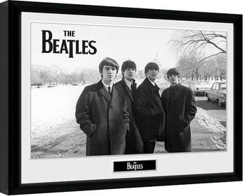 The Beatles - Capitol Hill Poster Emoldurado