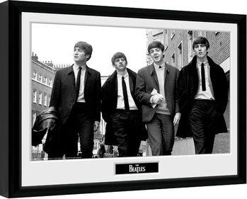 The Beatles - In London Poster Emoldurado