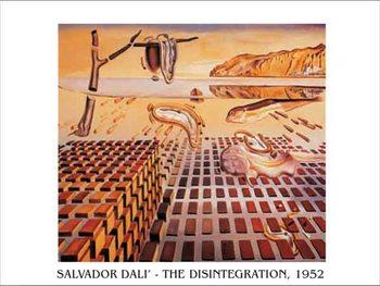 Reprodução do quadro The Disintegration of the Persistence of Memory, 1952-54
