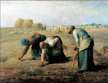 Reprodução do quadro The Gleaners, 1857