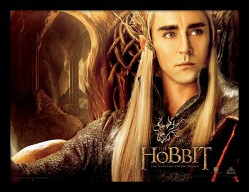 THE HOBBIT: THE DESOLATION OF SMAUG - thranduil Poster Emoldurado