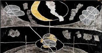 Reprodução do quadro The Satellites