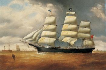 Reprodução do quadro The Ship Duncarin