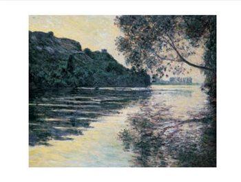Reprodução do quadro The Sun on The Seine