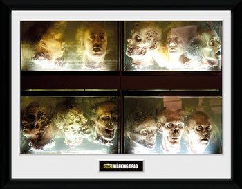 The Walking Dead - In A Pickle Poster Emoldurado