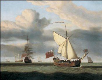 Reprodução do quadro The Yacht Royal Escape