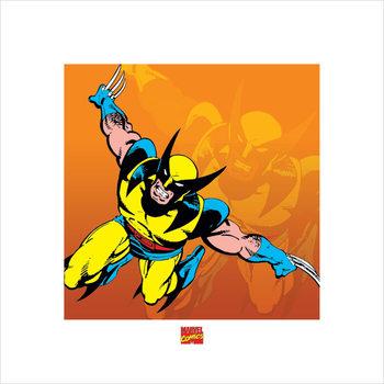Reprodução do quadro Wolverine - Marvel Comics