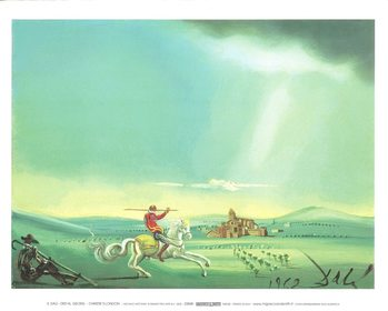 Saint George and the Dragon, 1944 Reproduction d'art