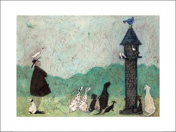 Sam Toft - An Audience with Sweetheart Reproduction d'art