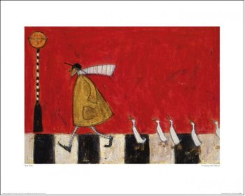 Sam Toft - Crossing With Ducks Reproduction d'art