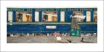 Sam Toft - Orient Express Ooh La La Reproduction d'art