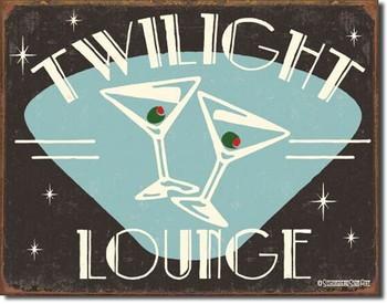 SCHOENBERG - twilight lounge Plaque métal décorée