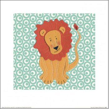 Catherine Colebrook - Fuzzy Lion Taidejuliste