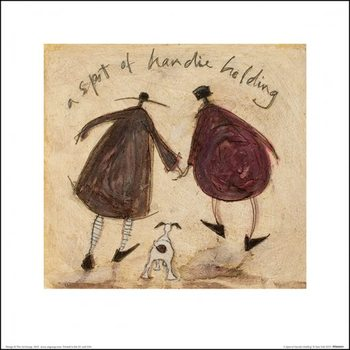 Sam Toft - A Spot of Handie Holding  Taide