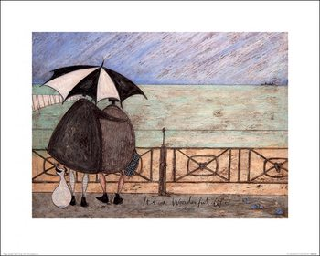 Sam Toft - It's a Wonderful Life Taidejuliste
