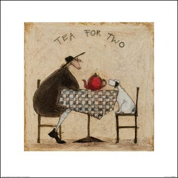 Sam Toft - Tea for Two Taidejuliste