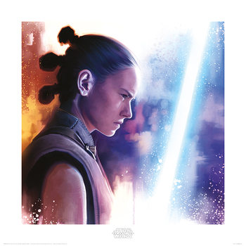 Star Wars: The Last Jedi- Rey Lightsaber Paint Taide