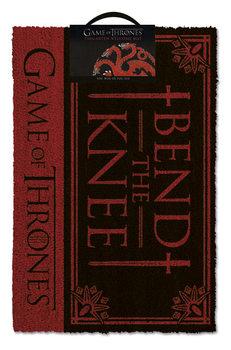 Tapete de entrada  Game Of Thrones - Bend the knee