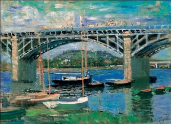 The Bridge at Argenteuil, 1874 Reproduction d'art