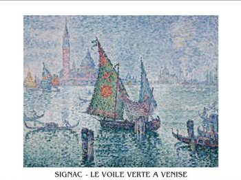 The Green Sail, Venice, 1902 Reproduction d'art