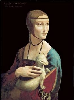 The Lady With the Ermine Reproduction d'art