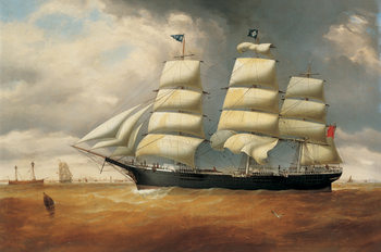 The Ship Duncarin Reproduction d'art