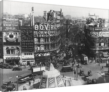Time Life - Piccadilly Circus, London 1942 Canvas Print