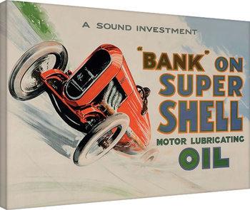 Shell - Bank on Shell - Racing Car, 1924 Toile