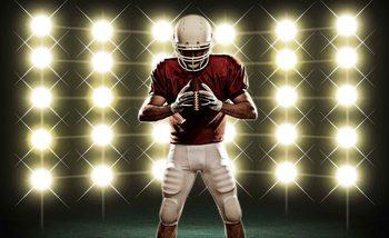 American Football Poster Mural
