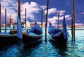 City Venice Gondola Poster Mural
