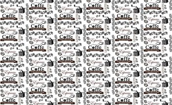 Coffee Pattern Poster Mural