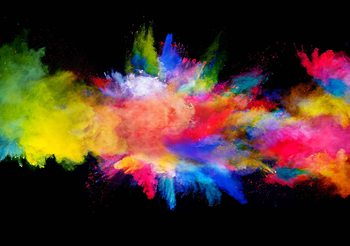 Colour Explosion Poster Mural