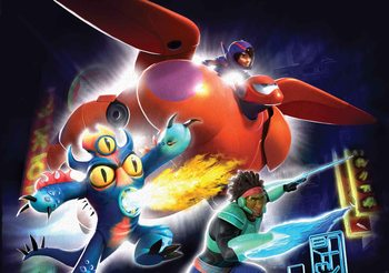 Disney Big Hero 6 Poster Mural