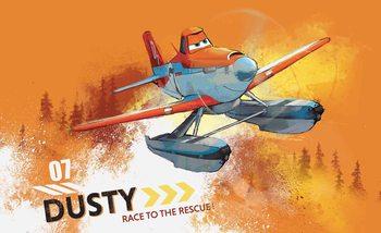 Disney Planes Dusty Croppopper Poster Mural