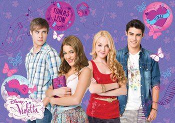 Disney Violetta Poster Mural