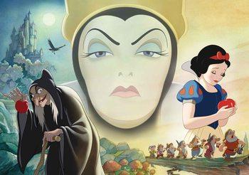 Disney White Snow White Good Bad Queen Poster Mural