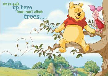 Disney Winnie Pooh Piglet Poster Mural