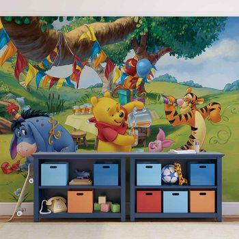 Disney Winnie Pooh Piglet Tigger Eeyore Poster Mural