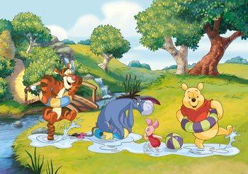 Disney Winnie Pooh Tigger Eeyore Piglet Poster Mural