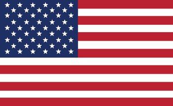 Drapeau américain des États-Unis Poster Mural