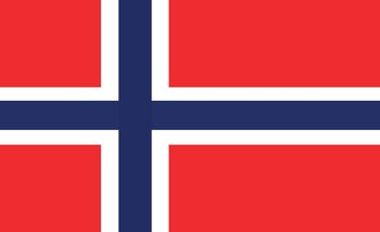 Drapeau Norvège Poster Mural